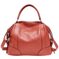 PASTE Women's Vintage Style First Layer Cowhide Leather Shoulder Bag,Handbag Royal Large