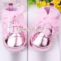 Baby Girl First walkers Toddler Shoes 3 Colors Infantil Kids Rose Flower Soft Sole Shoes Dropshipping SV19 SV013537
