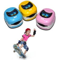 Children Color OLED Fingertip digital Pulse Oximeter SpO2 and pulse rate monitor Blood Oxygen SpO2 saturation oximetro