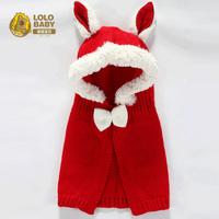 Baby thermal child cap male cap windproof cloak cap baby winter hat