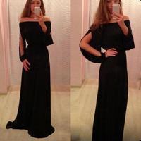 Sexy Women Strapless Boho Long Maxi Evening Party Dress Chiffon DressTonsee