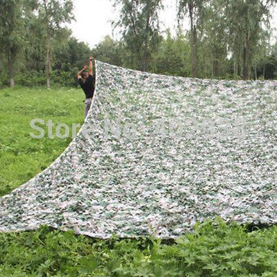 Фото Товары для спорта OEM Camouflage Net PLA 10x16ft Digital camouflage netting