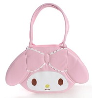 Soft pink bow Japanese kawaii bag, sweet bag, ice cream color cute Lolita style bags,hot selling festival gifts