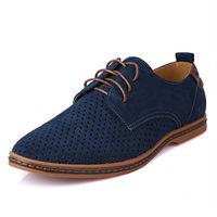 2015 New Arrival Spring & Autumn Fashion Leisure Big Size Breathable Suede Split Men's Oxford Shoes 7 Colors XMP179
