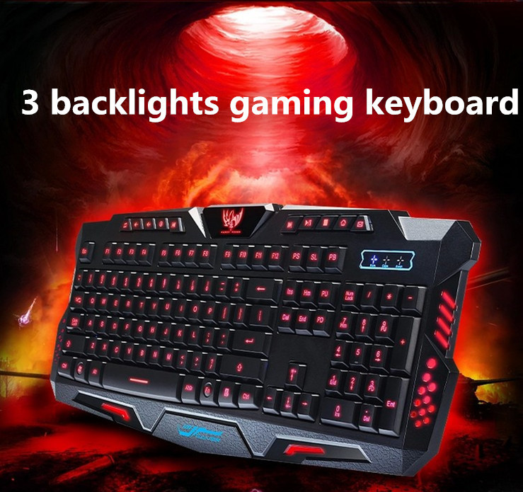 Usb wired backlight Keyboard Professional Gaming Keyboard LOL Dota2 Mechanical Highquality key boards for PC Computer Peripheral(China (Mainland))