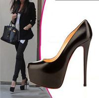 New 2014 14cm heel new fashion wedding party women red bottom high heels women pumps shoes women Sapatos Femininos Free Shipping