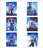 2015 Super Hero Series 3D Cartoon Guardians of the Galaxy Leather Case Cover For Apple Ipad Mini 1 2 3 & Ipad 2 3 4 &Ipad Air 5
