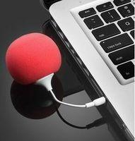 New Arrival Sponge + ABS Music Balloon Speaker Mini USB Speaker Subwoofer For MP3 MP4 Cell Phone ipod Pad