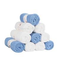 1 PCS/Lot Free Shipping 100% Cotton Towel Solid Color Plain Dyed Quick-Dry Face Towels 50cm *80 cm Bath Towel Hand Towel