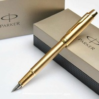 Free Shipping! Hot best gife Parker fountain pen parker IM series parker penLuxury gold-plated clip fountain pen IM series