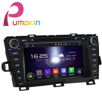 Toyota Prius Android 4.4 DVD Player GPS Navigation - Wifi 3G Bluetooth Ipod Steering wheel Support DVR OBD 1080P FM Audio Radio