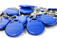 Free Shipping 10pcs/Lot 13.56Mhz Smart RFID Tag Token Keyfob MFS50 IC Cards NFC tag  for access control M1 Card