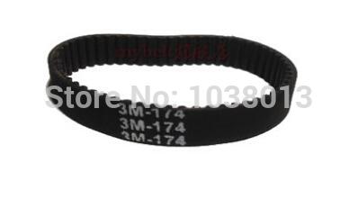 10 pçs/lote HTD 3 M correia dentada 174 3 M 8 dentes 58 largura 8 mm length174mm HTD174-3M-8 Neoprene com núcleo de fibra de vidro(China (Mainland))