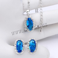 Free shipping!!! Jewelry Set,Wholesale Lot, Brass, earring & necklace, with 2lnch extender chain, Flat Oval, platinum plated