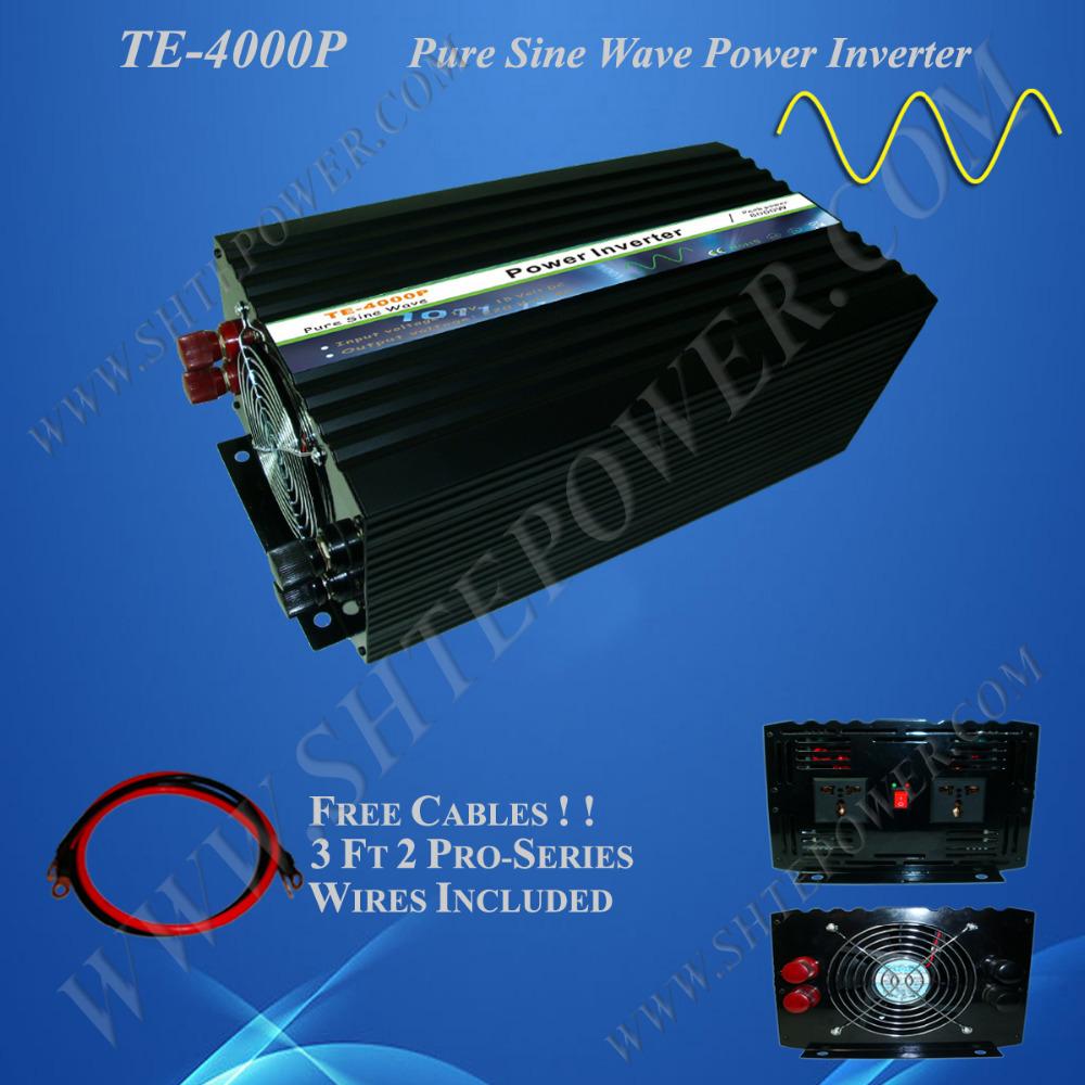 High frequency converter 48V DC, solar off grid converter 4000W 48-220V, sine inverter 48V 120V(China (Mainland))