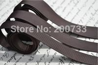Free shipping 2.5cm width nylon webbing  good quality thicker bag straps DIY accessories 10m/lot