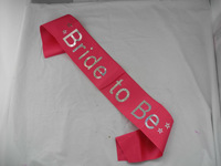 free  shipping   fashion  party  sashes   bride to be  party  accessory  20pcs/lot
