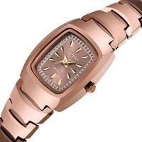 Wristwatch Relogio feminino fashion casual quartz watches women luxury brand rhinestone full tungsten steel women dress watch