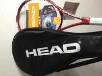 2014 Hot 100% Carbon Head tennis racket PCT Ti.Crush head tennis raquete de tennis racket head  with cover bag red & blue
