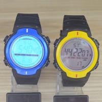 Women Men Boy Girl LED Electronic Multifunctional 30m Waterproof Swim Digital Rubber Wrist Watch 9040