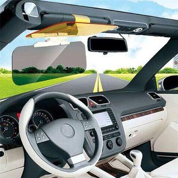 HD Car Anti-Glare Dazzling Goggle Day Night Vision Driving Mirror Sun Visors