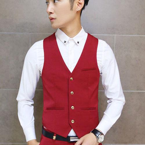 Vintage Men Suit Vest 2014 New Arrival Slim Fit Fashion Designer Brand Formal Business Dress Waistcoat(China (Mainland))