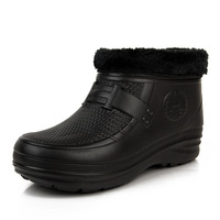 Eva thermal 1358 male short boots rainboots rubber shoes water shoes
