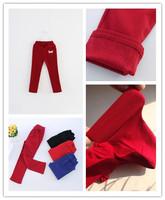 new children's boy girl long pants Korean children's letters hole jeans kids winter pant pencil pants 5pcs/lots