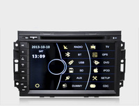 8'' touch screen chrysler 300c dvd with DVD, GPS, Radio, Bluetooth, Ipod, SD, USB, Steering wheel control