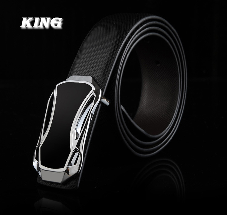 New 2014 Classic Mens Belts Brand Leather Casual Belt Auto Buckles Belts for Men Free Shipping Male Business Belts(China (Mainland))