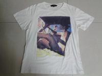 2015 oodji women o neck t shirt  women blouse lady pattern water wash print short tee casual t shirt