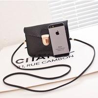 2014 fashion new European mini multi-layer phone case bag small handbag shoulder bag women messenger bags female purse
