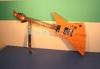 Classic  Flame 1958 korina explorer electric guitar shaped