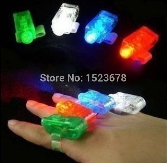 Finger Light Shows 4 color led finger lamp,led