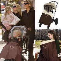 Windproof baby comfort stroller blanket free shipping new multifunctional baby stroller mat waterproof stroller seat cover KA041