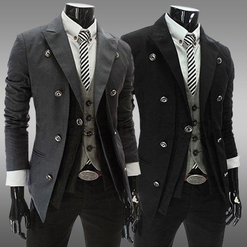 Mode Jassen Lente 2015 : Kopen wholesale lange blazer voor mannen uit china