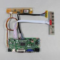 HDMI+VGA+DVI+Audio LCD Controller board M.NT68676 for 17inch LP171WP4  B170PW03 B170PW06 LTN170X2 LTN170WX  1440*900 lcd panel