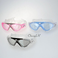 Large Face Shield Swimming Goggles High Definition Comfortable Waterproof Anti-Fog Glasses Unisex Swim Eyewear 0.3-YJ010