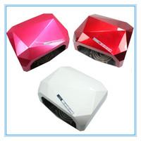 18W Nail Lamp Best Curing Effect Nail Dryer  Timer  Nail Art LED CCFL Lamp Nail Dryer Polish Tools EU/US Plug