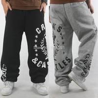 Eminem 2014 Men's Elastic Waist Brand Harem Pants Sport Jogger Loose Hip hop Hiphop Outdoor Printed Sweatpants for Man FS3433