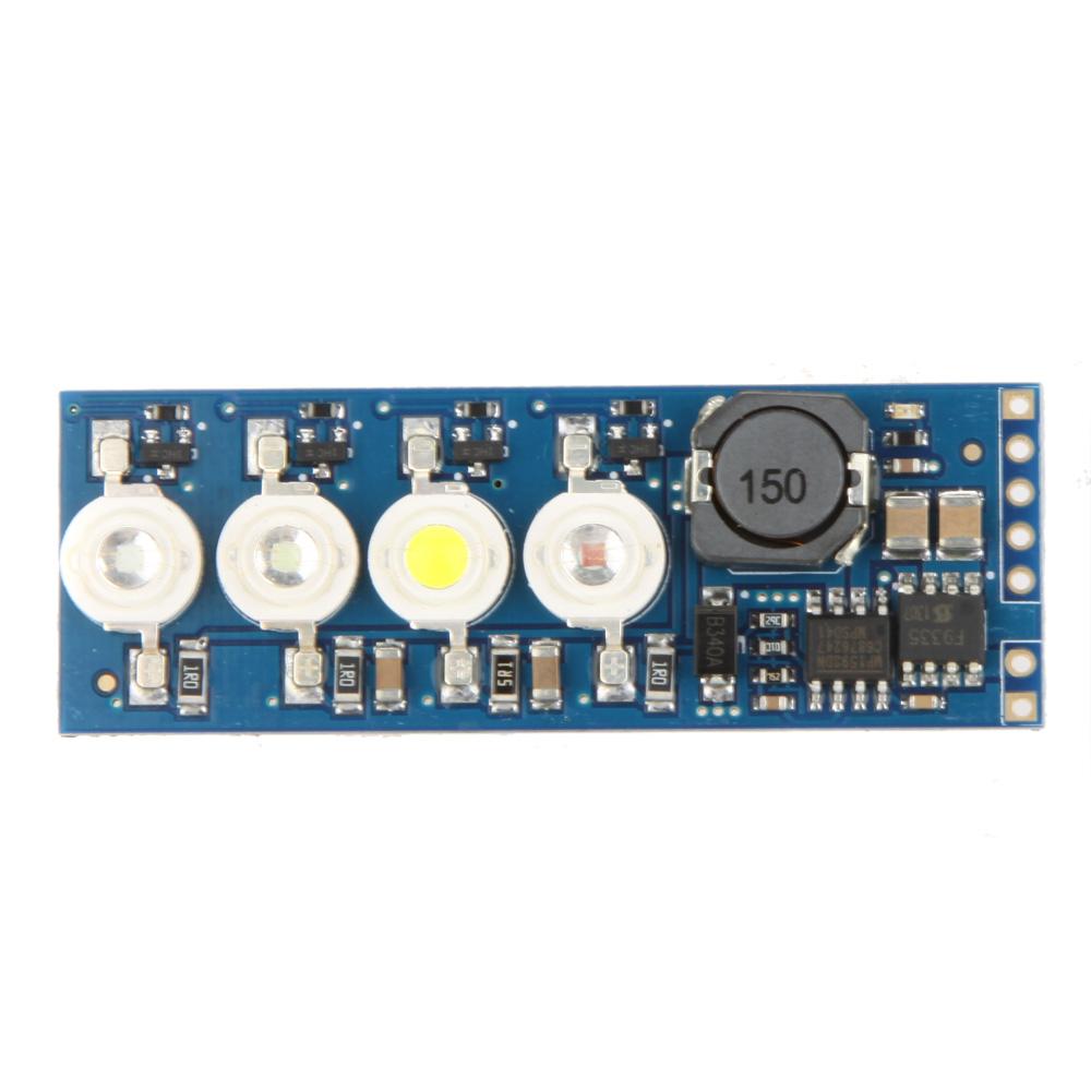 4LEDs 3W LED Module LED Indicator V1.0 for Flight Controller APM MegaPirate RC Model(China (Mainland))