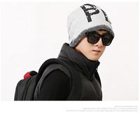 Free shipping New Men Women Double Layer  Beanie Hat Warm Winter Ski Hat Baggy Snowboard Unisex Hip Hop Hat