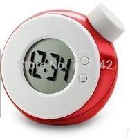 alarm water clock with temperature display