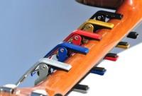 5pcs/lot High Quality Aluminium Alloy New Black Quick Change Clamp Key Acoustic Classic Guitar Capo For Tone Adjusting