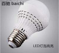 3 w5w7w9w led bulbs E27 screw ultra bright led ball steep light energy-saving lamps 220 v to 110 v