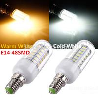 220V/110V SMD 5730 E14 LED Bulb 15W LED bulb lamp 48LEDs, Warm white/Cold white LED Corn Bulb