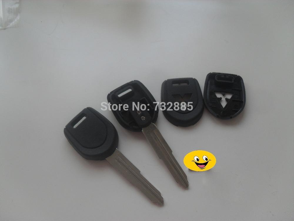 Hhgh Quality Mitsubishi Transponder Key Shell Left Key Blade Replacement Key Cover Blanks(China (Mainland))