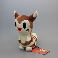 Retail Japanese Animation Pokemon Furret Soft Plush Toy Doll 22cm High Quality Stuffed Doll Toy For Best Gifts