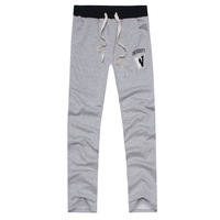 The spring and autumn period and the new sports pants Men's sports casual pants pants trend Leisure health pants