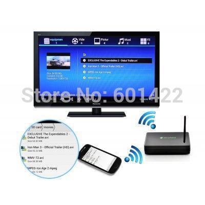 10PCS 1080P HDMI Network Media Player Android 4.2 Smart TV Box 4x USB2.0 Support Adobe Flash HTML5(China (Mainland))
